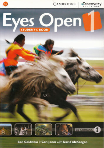 1 of 1 - Cambridge Discovery Education EYES OPEN Level 1 (A1) Student's Book @NEW@