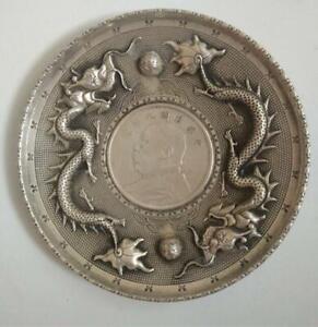 China Retro bronze Small Pendant Collection dragon Pendant statue amulet