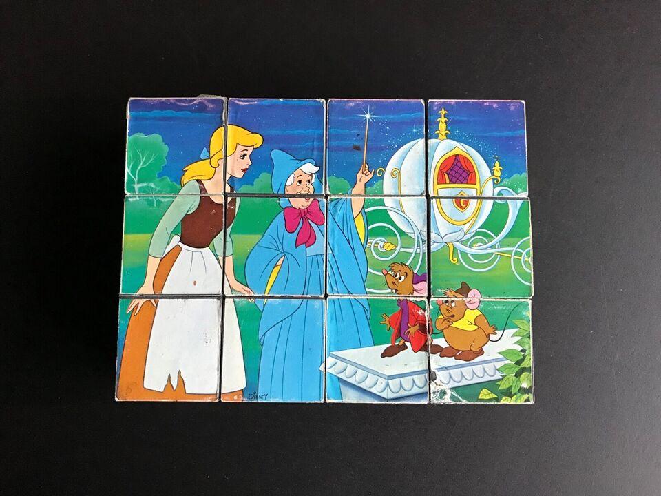 Walt Disney, Klods-puslespil af plast, puslespil