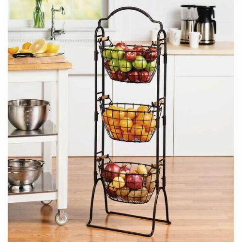 Gourmet Basics by Mikasa Harbor 3-tier Market Basket