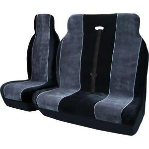 RENAULT TRAFIC ALL YEARS LUXURY VELOUR HEAVY DUTY VAN SEAT COVERS 2+1