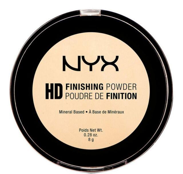 NYX Cosmetics HD FINISHING POWDER HDFP02- Banana