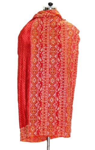 INDIAN BRAND RITU KUMAR WEDDING DUPATTA VINTAGE Z… - image 1