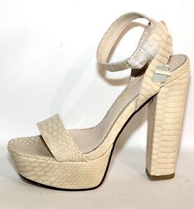 MujerEbay Cuñas Alto Tacón Sandalias GiorgiaJohns Zapatos 39 I9WE2YDH