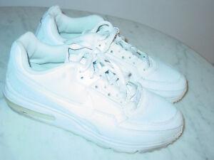 Details about 2011 Mens Nike Air Max LTD WhiteMetallic Silver Running Shoe Size 9