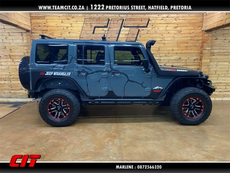 2015 Jeep Wrangler Unlimited 2.8L CRD Sahara AT for sale!