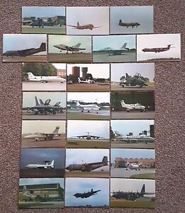 22-Limited-Edition-Postcards-Aviation-Military-RAF-Bombers-Fighters-Helicopters