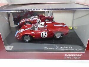 éNergique Carrera Evolution Ferrari 362 P2 #17 Entièrement Neuf Dans Sa Boîte-afficher Le Titre D'origine Construction Robuste