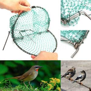 Heavy-Duty-32CM-Sparrow-Pigeon-Starling-Bird-Net-Mesh-Humane-Live-Trap-E