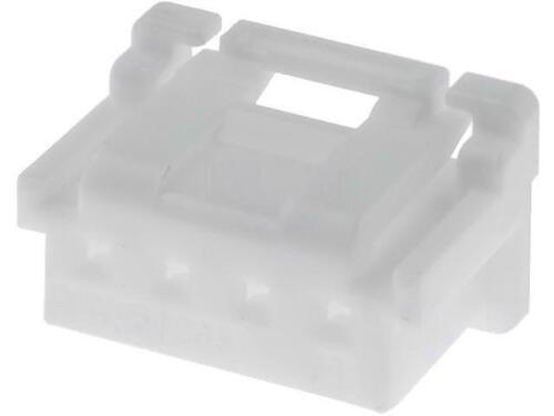 4x MX-502351-0400 Stecker Leitung-Platte weiblich DuraClik 2mm PIN 4 3A MOLEX