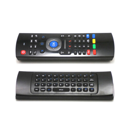 MX3 Fly Air Mouse Wireless Keyboard Qwerty Remote Controller 2.4GHz With Mic
