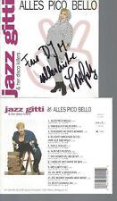 CD-JAZZ GITTI--ALLES PICOBELLO--MIT AUTOGRAMM