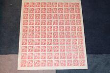 Korea Stamp- Full Sheet NH, 100 NEW! Liberation from Japanese rule 1946 10 chun