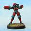 Female-Cyborg-ERL-Cyber-Arm-28mm-Unpainted-Metal-Wargames thumbnail 1