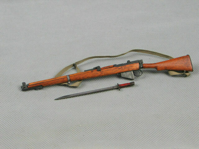"""1//6 WWII  Lee-Enfield  Rifle Gun Weapon Model  F//12/"""" Figure Soldier Toy Gift"""