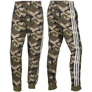 Adidas Originals Junior Camo Pants Camouflage Trefoil