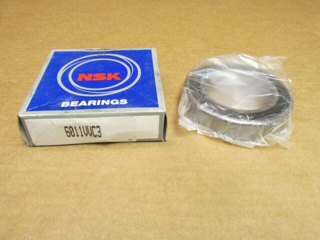 NSK 6307VVC3 BEARING RUBBER SEALED 6307 VV C3 6307-2RS-C3 35x80x21 mm