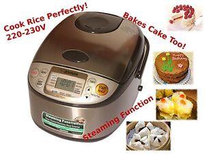 ZOJIRUSHI-Micom-Rice-Cooker-1L-NS-TSQ10-Bakes-Cake-220V-230V-Gift-Idea-NEW