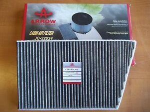 Cabin-Air-Filter-Charcoal-Mercedes-Benz-High-Quality-203-830-0918