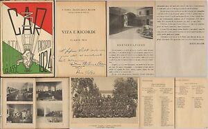 BRESCIA-CASERMA-OTTAVIANI-3-CAR-VITA-E-RICORDI-CLASSE-1924-BRESCIA-1946-ILLUSTR