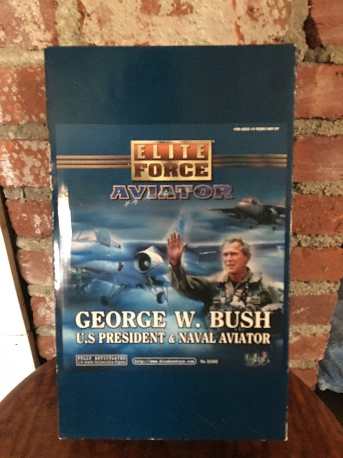 Blu Box Toys Elite Force Aviator George W. Bush U.S. President & Naval Aviator