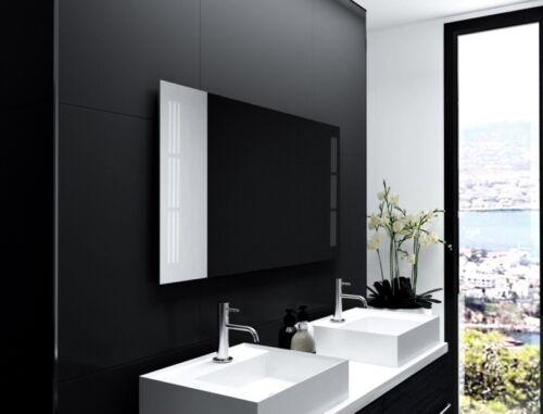 Miroir de salle avec éclairage LED salle de bain miroir salle de bains miroir miroir mural m154