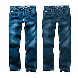 Hero-Portland-Slim-Fit-Straight-Stretch-Jeans-Hose-Rinse-Wash-o-Dark-Blue-Wash