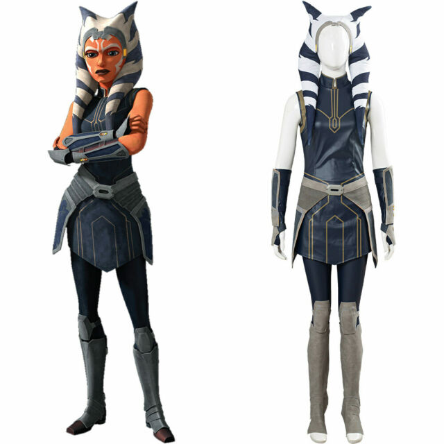 Star Wars: Clone Wars Season 7 Ahsoka Tano Cosplay Costume ...