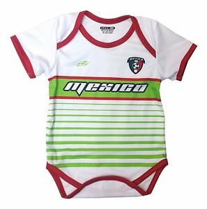 c8ba3b96e8c Mexico Soccer Baby Outfit Mameluco New W O Tag Sizes 3 to 12 Months ...