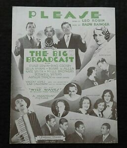 1932-034-The-Big-Broadcast-034-Bing-Crosby-the-Mills-Brothers-Cab-Calloway-SHEET-MUSIC