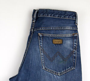 Wrangler Hommes Texas Jeans Décontracté Taille W32 L34 AMZ1060