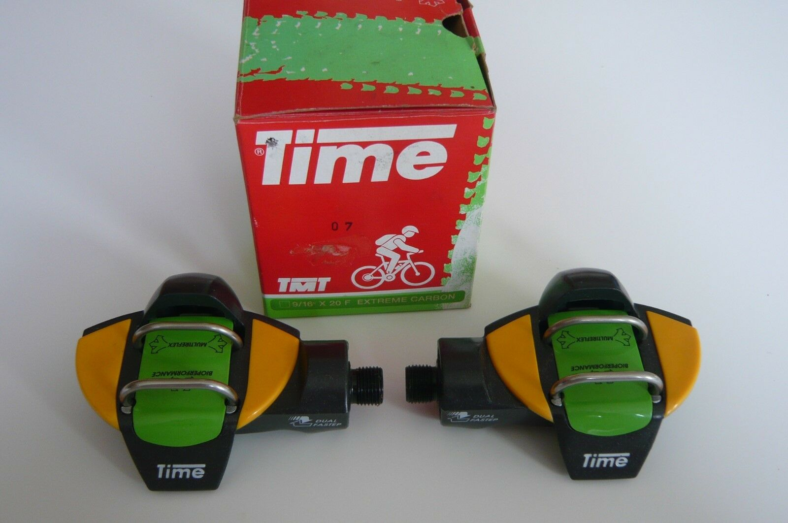 Time Extreme Carbon  9 16 x 20F Pedals Bioperformance Made In France New  first time reply