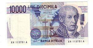FDS ITALY 10.000 Lire Volta Lettera A Pick 112a