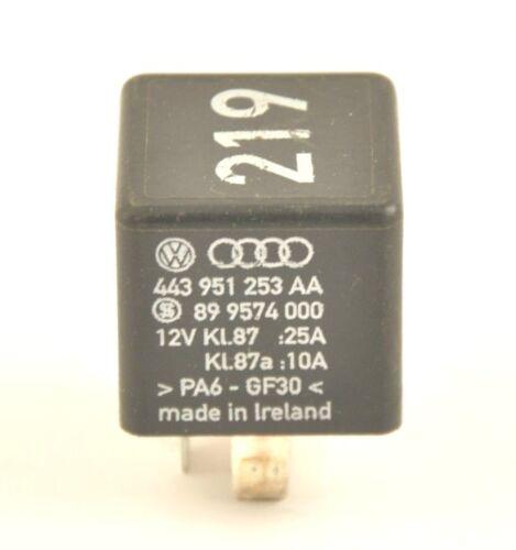 VW Audi Seat Skoda 219 Relay 443951253 AA