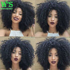 Women 100% Brazilian Remy Human Hair Full Wigs Short Wave Straight Wig Natural