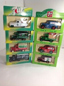 Lledo-Die-Cast-7UP-Assortment-Bottle-Van-Truck-Die-Cast-Model-7-UP-Your-Choice