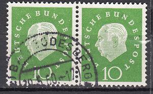 BRD 1959 Mi. Nr. 303 Waagerechtes Paar Gestempelt (18096) - Beckum, Deutschland - BRD 1959 Mi. Nr. 303 Waagerechtes Paar Gestempelt (18096) - Beckum, Deutschland