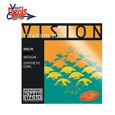 Thomastik Vision Titanium  Solo Violin String Set 4/4