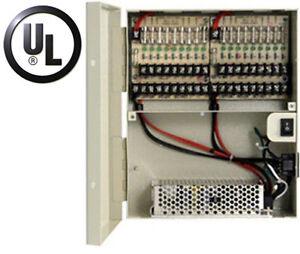 12 Volt 12v 18 Camera Ul Listed Cctv Dc Power Distribution
