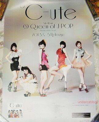 Japan IDOL °C-ute Queen of J-POP 2013 Taiwan Promo Poster