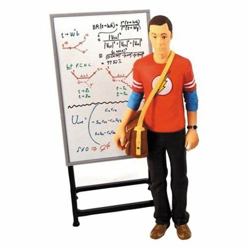 Big Bang Theory Sheldon Cooper Flash Shirt 7-Inch Action Figure