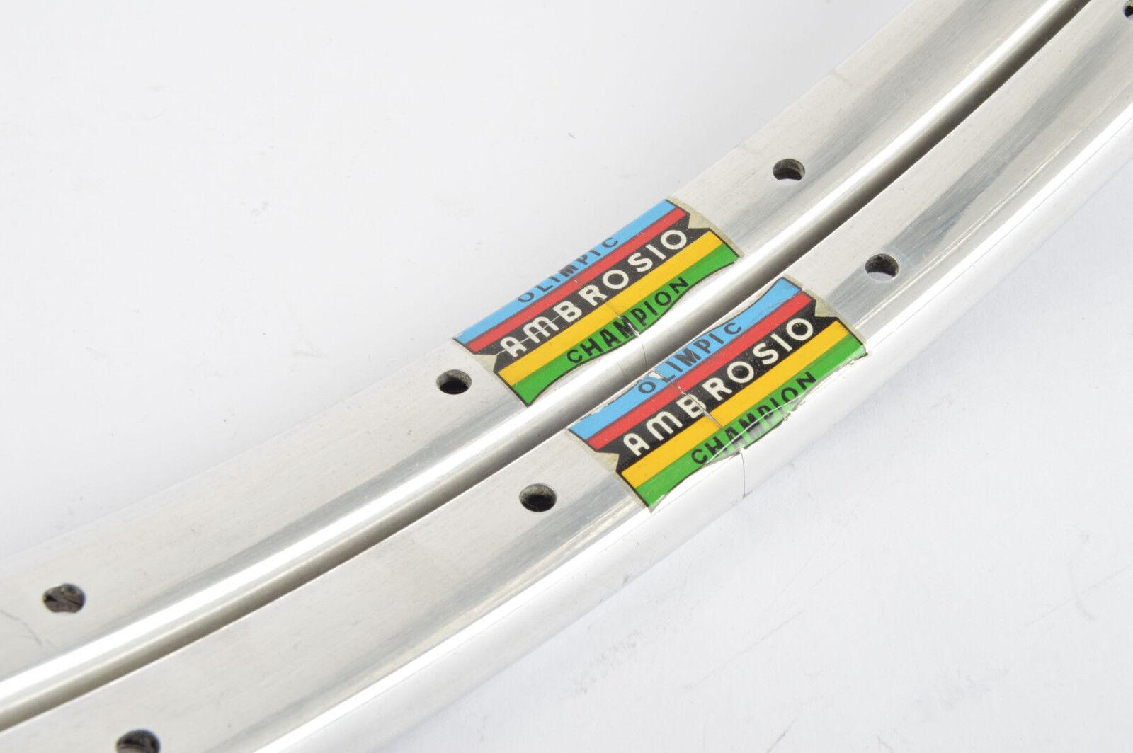 NOS Ambrosio Olimpic Champion Tubular Rim Set 20 inch 508mm with 28 holes