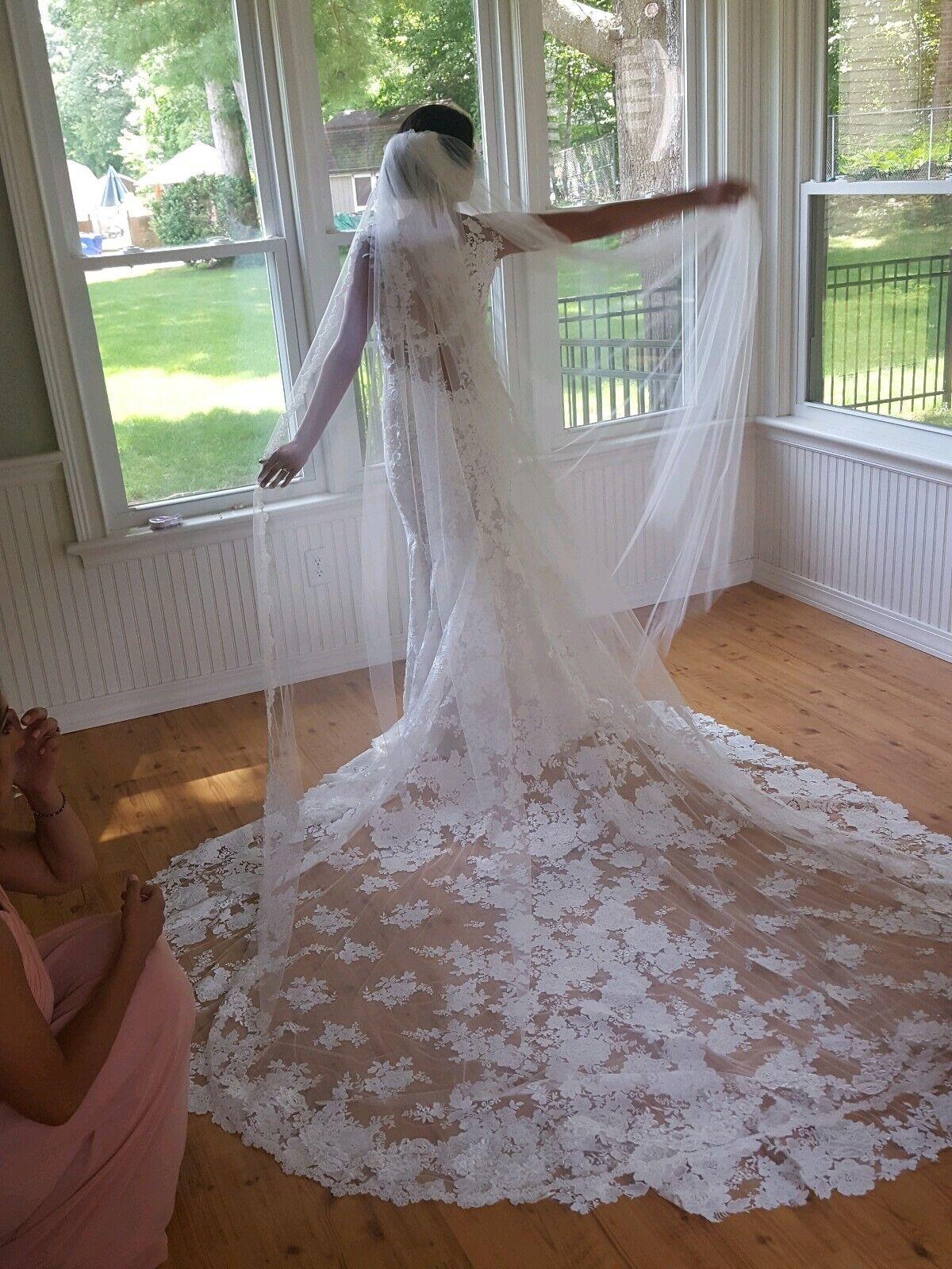 - Pronovias Wedding Dress 60 % off Retail Price.