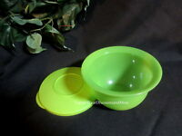 Tupperware Impressions Bowl Small 2 1/2 C. Mini Mixing Serving Storage Green
