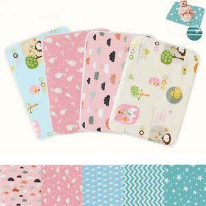 Baby-Infant-Waterproof-Urine-Mat-Diaper-Nappy-Newborn-Change-Cover-Pad-50-70cm