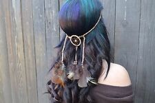 Dreamcatcher Feather Headband - Hair Accessories - Festivals - Raves - Boho