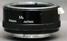 NIKON M2 MACRO EXTENSION TUBE Ring Clean! Japan