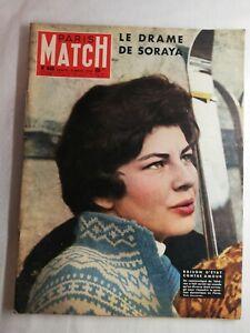 N1535 Magazine Paris-Match N°466 15 mars 1958 drame de Soraya, collège d'Izmit