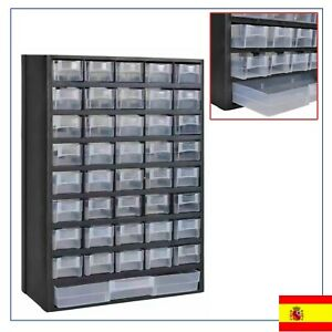 41-Cajones-Armario-de-Herramientas-Plastico-Caja-de-Taller-Ferreteria-Garaje