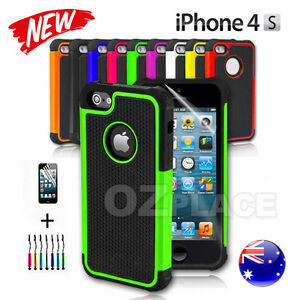 New-iPhone-4-4S-Case-For-Apple-Heavy-Duty-Shock-Proof-Silicone-Hard-cover